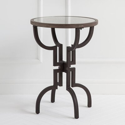 Daveney Round End Table