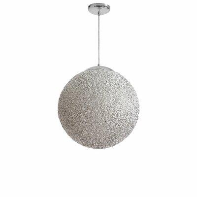 Longlier 2-Light Globe Pendant Shade Color: Chrome