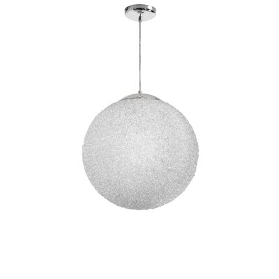 Longlier 2-Light Globe Pendant Shade Color: Clear
