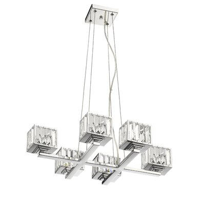 Ivar 6-Light Crystal Chandelier