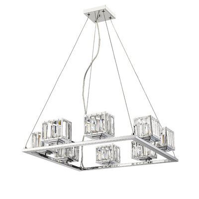 Eriq 8-Light Crystal Chandelier