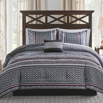 9 Piece Comforter Set Size: King