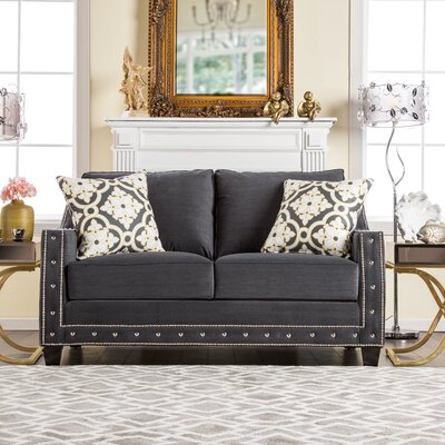 Sepia Loose-Cushioned Loveseat