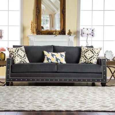 Sepia Loose-Cushioned Sofa