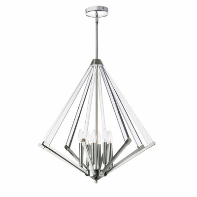 Longchamps 8-Light Foyer Pendant Finish: Polished Chrome