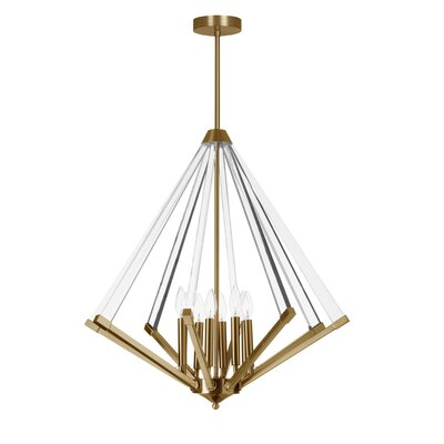 Longchamps 8-Light Foyer Pendant Finish: Vintage Bronze