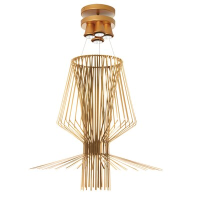 Lorelei 4-Light Pendant Finish: Gold