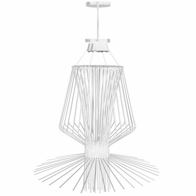 Lorelei 4-Light Pendant Finish: White