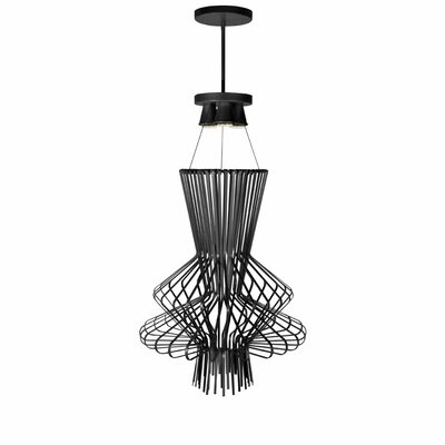 Lorelei 3-Light Pendant Finish: Black