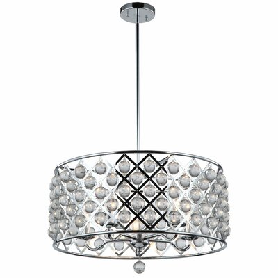 Lutterworth 5-Light Drum Pendant