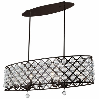 Lutterworth 4-Light Kitchen Island Pendant