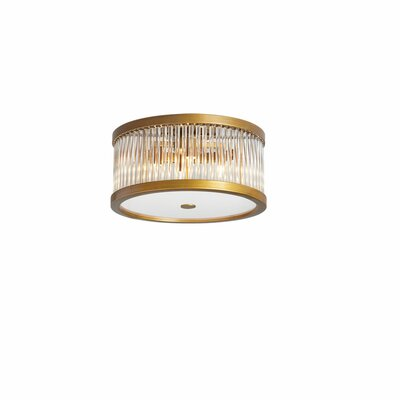 Lydd 4-Light Flush Mount