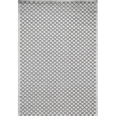 Hadleigh Gray Area Rug Rug Size: Rectangle 5 x 76