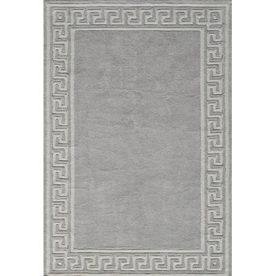 Finley Hand-Tufted�Gray Area Rug Rug Size: Rectangle 8 x 10