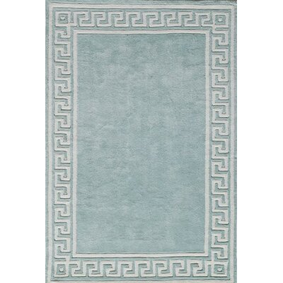 Finley Hand-Tufted Mint Area Rug Rug Size: Rectangle 5' x 7'6