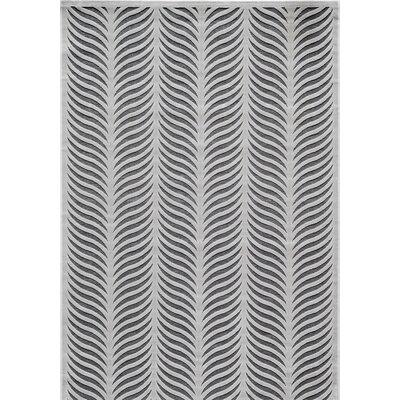 Gilberta Silver Area Rug Rug Size: Rectangle 5 x 76