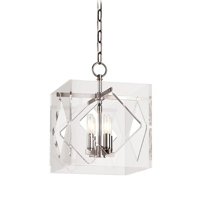 Rooker 4-Light Foyer Pendant Finish: Polished Nickel