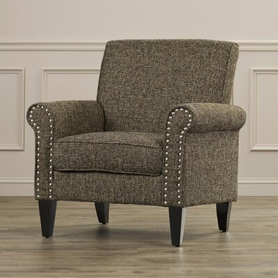 Gruber Arm Chair Upholstery: Brown