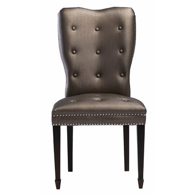 Mansfield Side Chair Upholstery Color: Brown