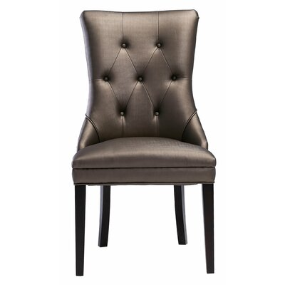 Markes Side Chair Upholstery Color: Bronze