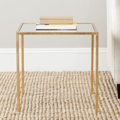 Mikayla End Table Finish: Gold