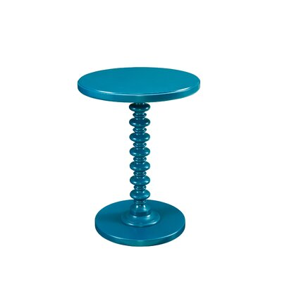 Adames End Table Color: Teal