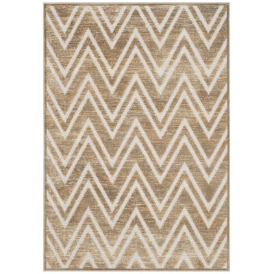 Gabbro Mouse / Cream Area Rug Rug Size: 4 x 57