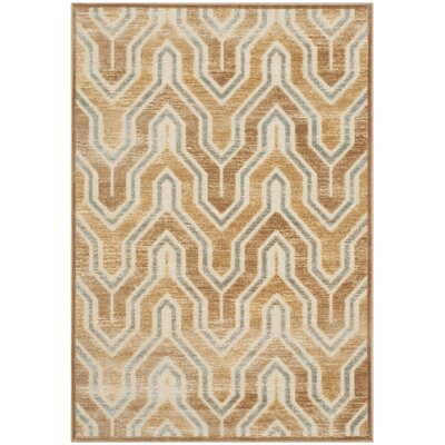 Gabbro Taupe/Beige Area Rug Rug Size: Rectangle 8' x 11'2