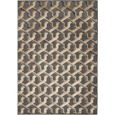 Gabbro Soft Anthracite Area Rug Rug Size: 8 x 112