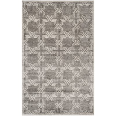 Maritza Grey/Light Grey Outdoor Area Rug Rug Size: Rectangle 5 x 8