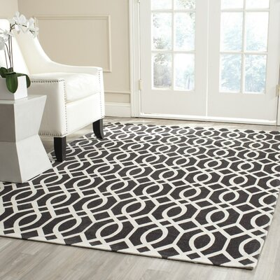 Holsworthy Brown / Ivory Rug Rug Size: 4 x 6
