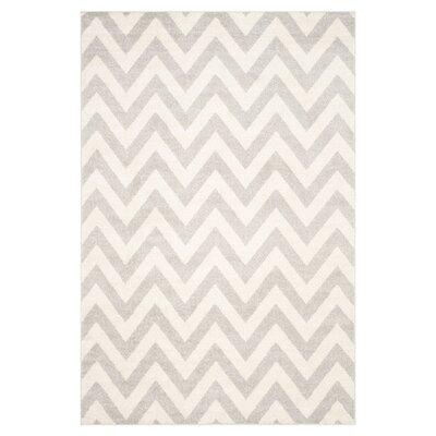 Currey Light Grey/Beige Area Rug Rug Size: 10 x 14