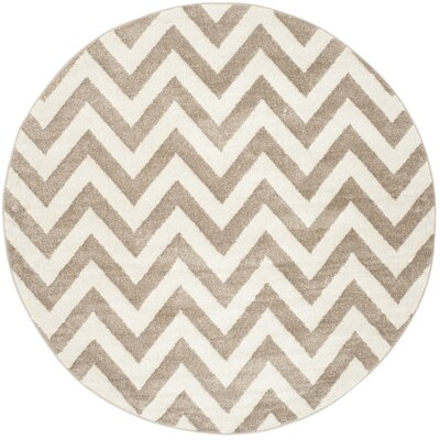 Currey Wheat/Beige Area Rug Rug Size: Rectangle 6 x 9