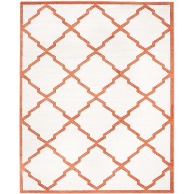 Currey Beige/Orange Indoor/Outdoor Area Rug Rug Size: 6 x 9