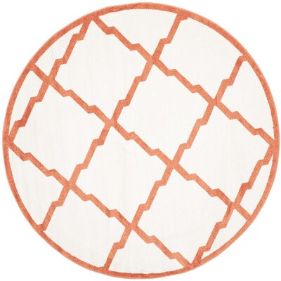 Currey Beige/Orange Indoor/Outdoor Area Rug Rug Size: Rectangle 6 x 9