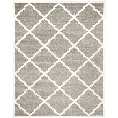 Maritza Dark Gray/Beige Indoor/Outdoor Woven Area Rug Rug Size: 8 x 10