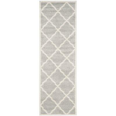 Currey Light Gray/Beige Indoor/Outdoor Area Rug Rug Size: Runner 23 x 11