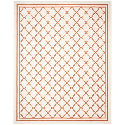 Currey Beige/Orange Indoor/Outdoor Area Rug Rug Size: 8 x 10