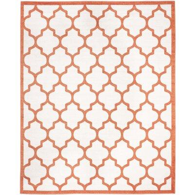 Currey Beige/Orange Indoor/Outdoor Area Rug Rug Size: 8 x 10