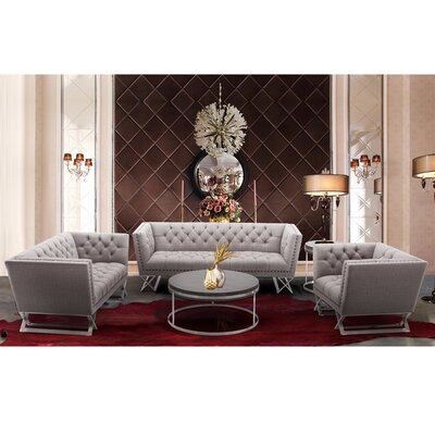 Borchert Stainless steel Living Room Collection