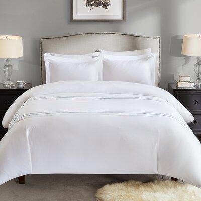Heredia Bed Scarf Color: Aqua