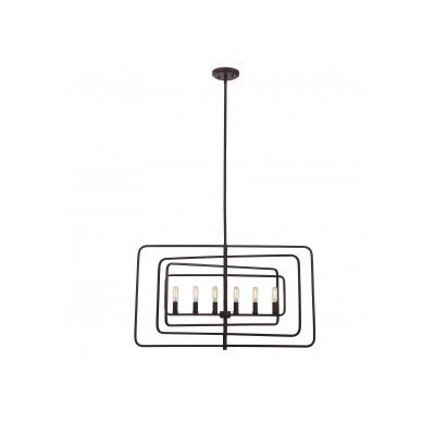 Lievens 6-Light Foyer Pendant