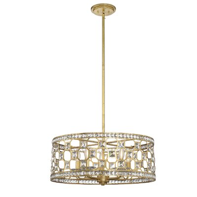 Marchienne 5-Light Drum Pendant