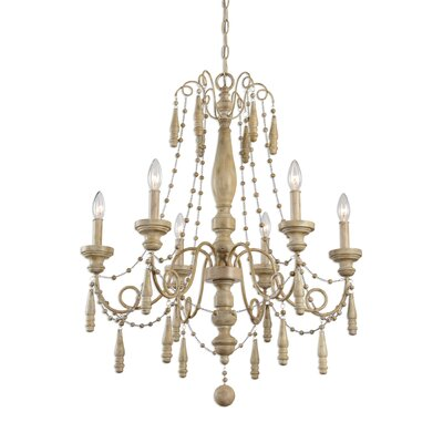 Mariemont 6-Light Candle-Style Chandelier