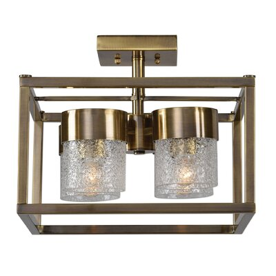 Mariemont 4-Light Semi Flush Mount
