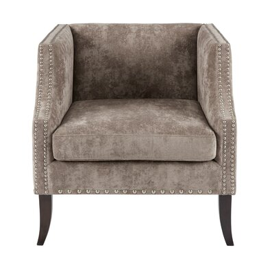 Blakely Armchair Color: Brown