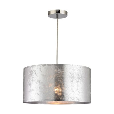 Finn Boulevard 1-Light Drum Pendant