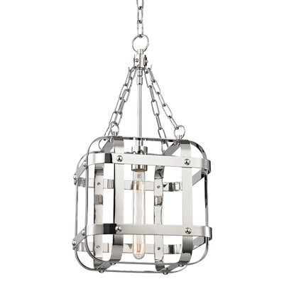 Ellaine 1-Light Pendant Finish: Polished Nickel