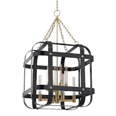 Ellaine 8-Light Foyer Pendant Finish: Aged Old Bronze