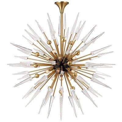 Chaumont 18-Light Sputnik Chandelier Finish: Aged Brass